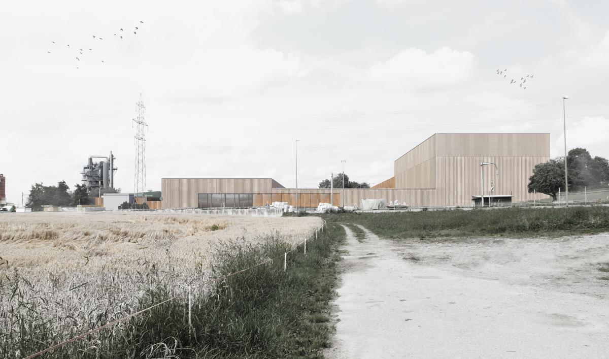 Erweiterung Sammlungszentrum Schweizerisches Nationalmuseum, Affoltern am Albis, Andreas Zimmermann Architekten, mimikry