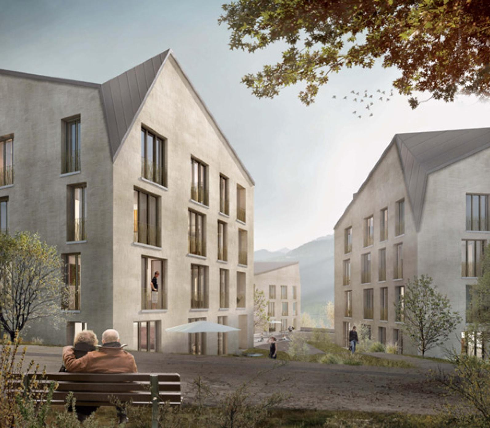 Areal Pelikan in Weesen, Team Wild Bär Heule Architekten, Lyonel