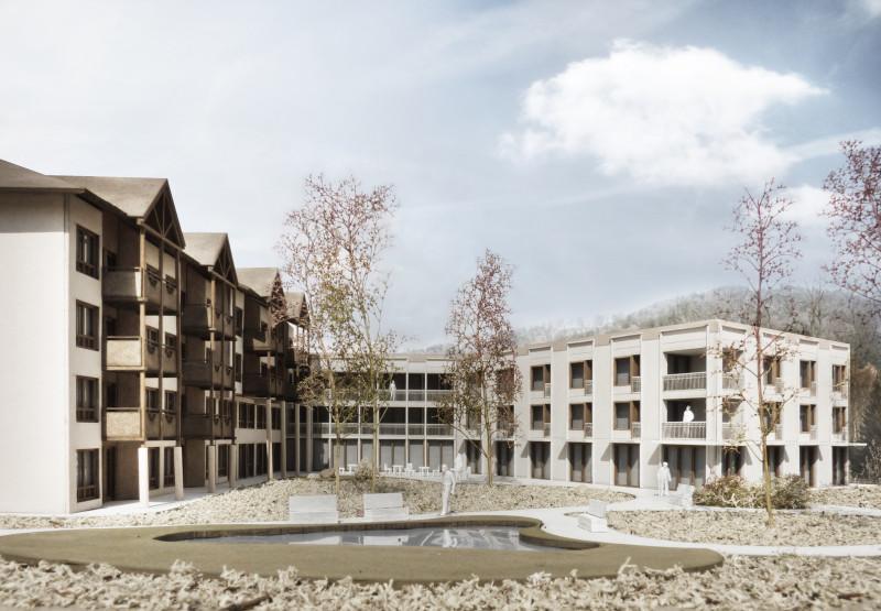 Erweiterung Alters- und Pflegeheim Seegarten Hünibach, kathrinsimmen Architekten, Les Triplettes de Bellevue