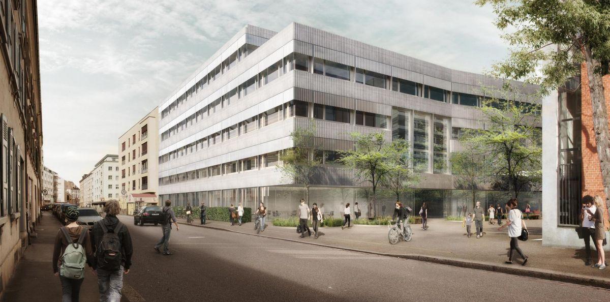 Neubau Universitäres Zentrum Zahnmedizin und Umweltwissenschaften der Universität Basel, Birchmeier Uhlmann + rabinovich architekten, DIASTEMA