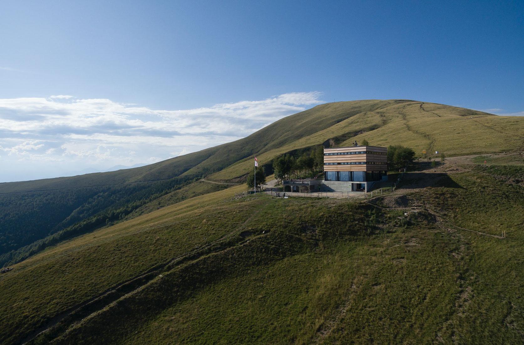 Nuova capanna Monte Bar, Lugaggia-Capriasca, Atelier P+R - Oliviero Piffaretti e Carlo Romano architetti, BARLUME