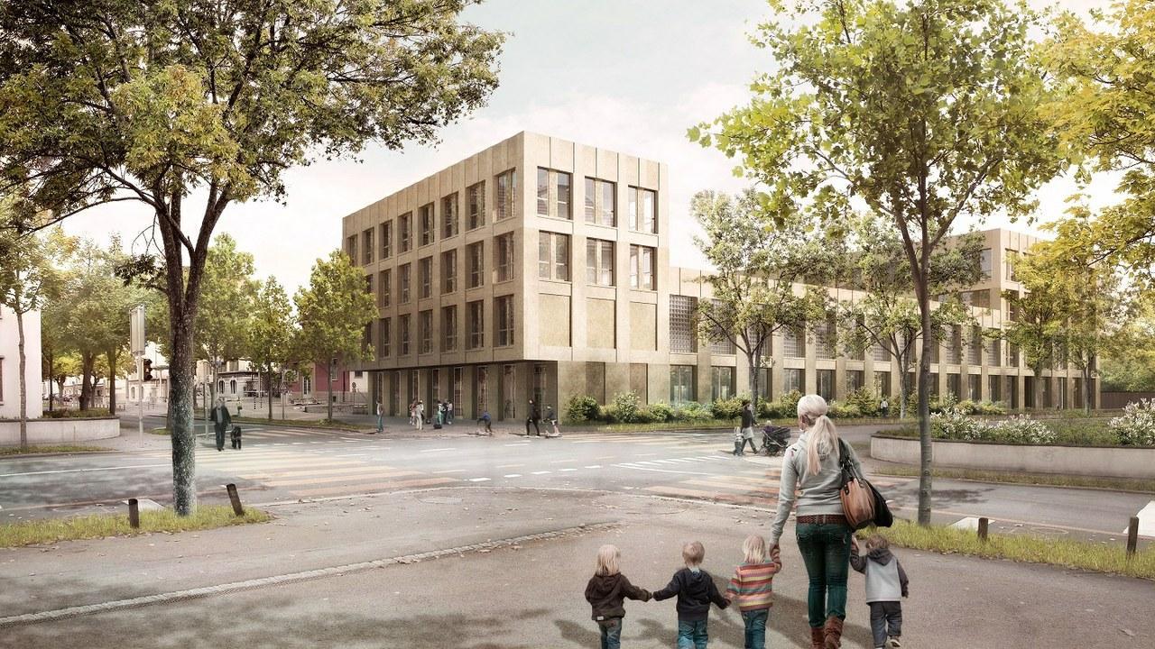 Sanierung und Erweiterung Schulanlage Spitalacker mit Zusatznutzungen, Bern, Team Kast Kaeppeli Architekten, VIKTORIA