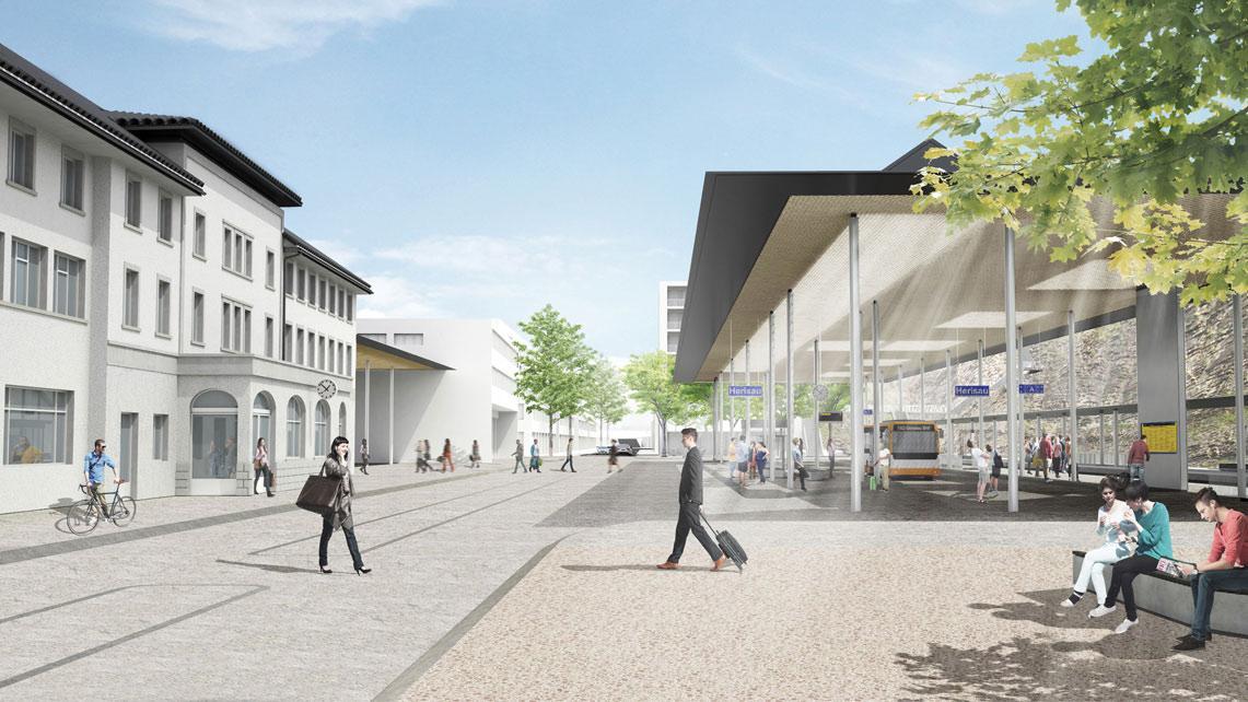 Arealentwicklung Bahnhof Herisau, Hosoya Schäfer Architects