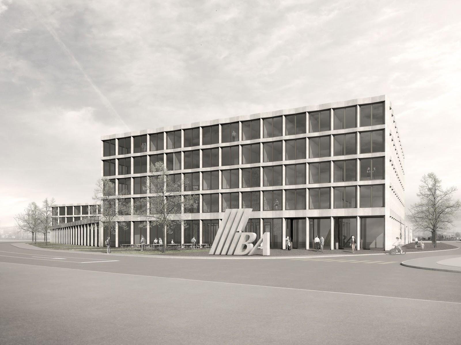 Arealüberbauung IBAarau AG, Neubau Werkhof und Büronutzungen, Buchs, Gautschi Lenzin Schenker Architekten