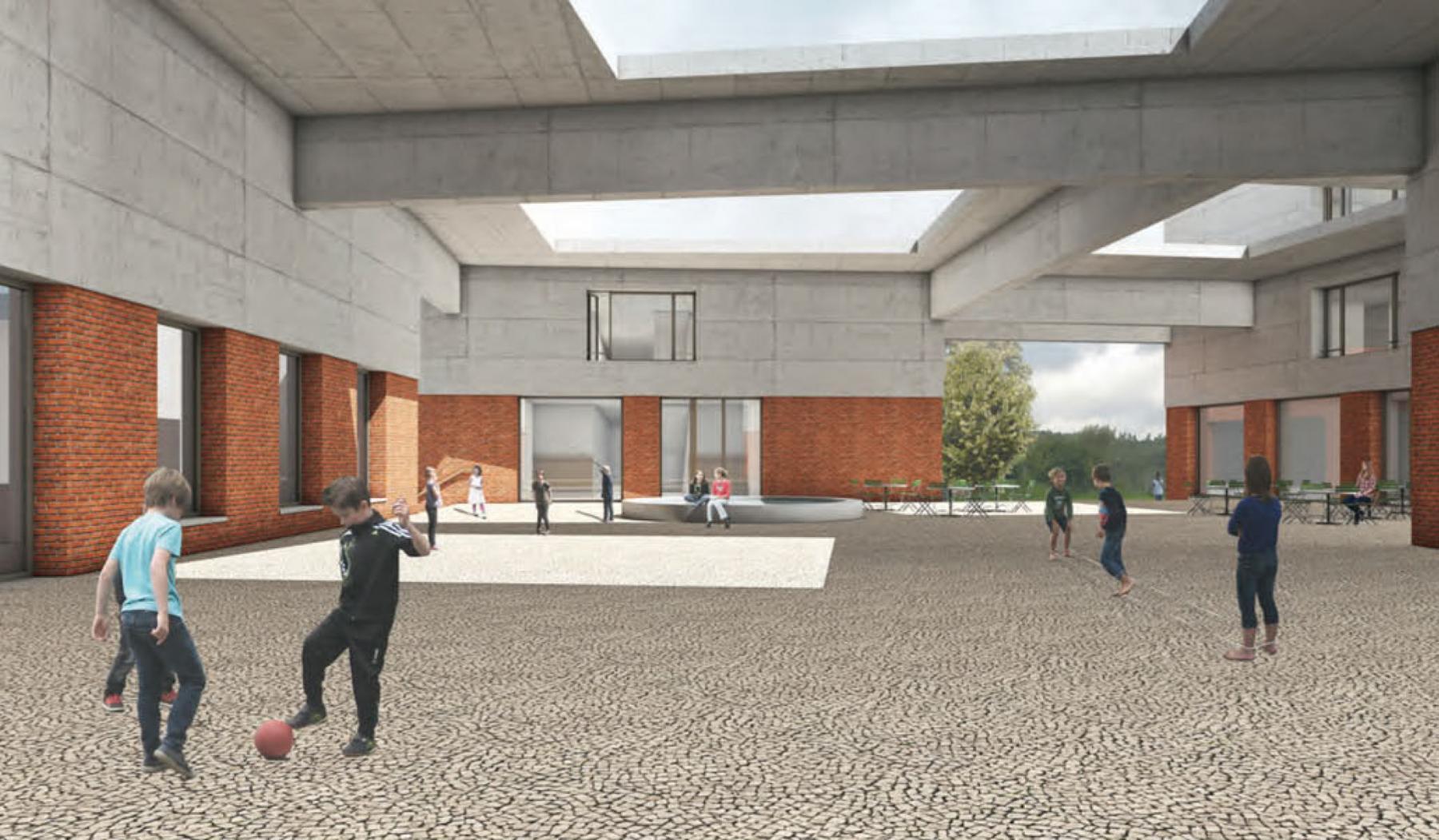 Ersatzneubau Schulanlage Schauenberg, Zürich-Affoltern, Adrian Streich Architekten, FORUM