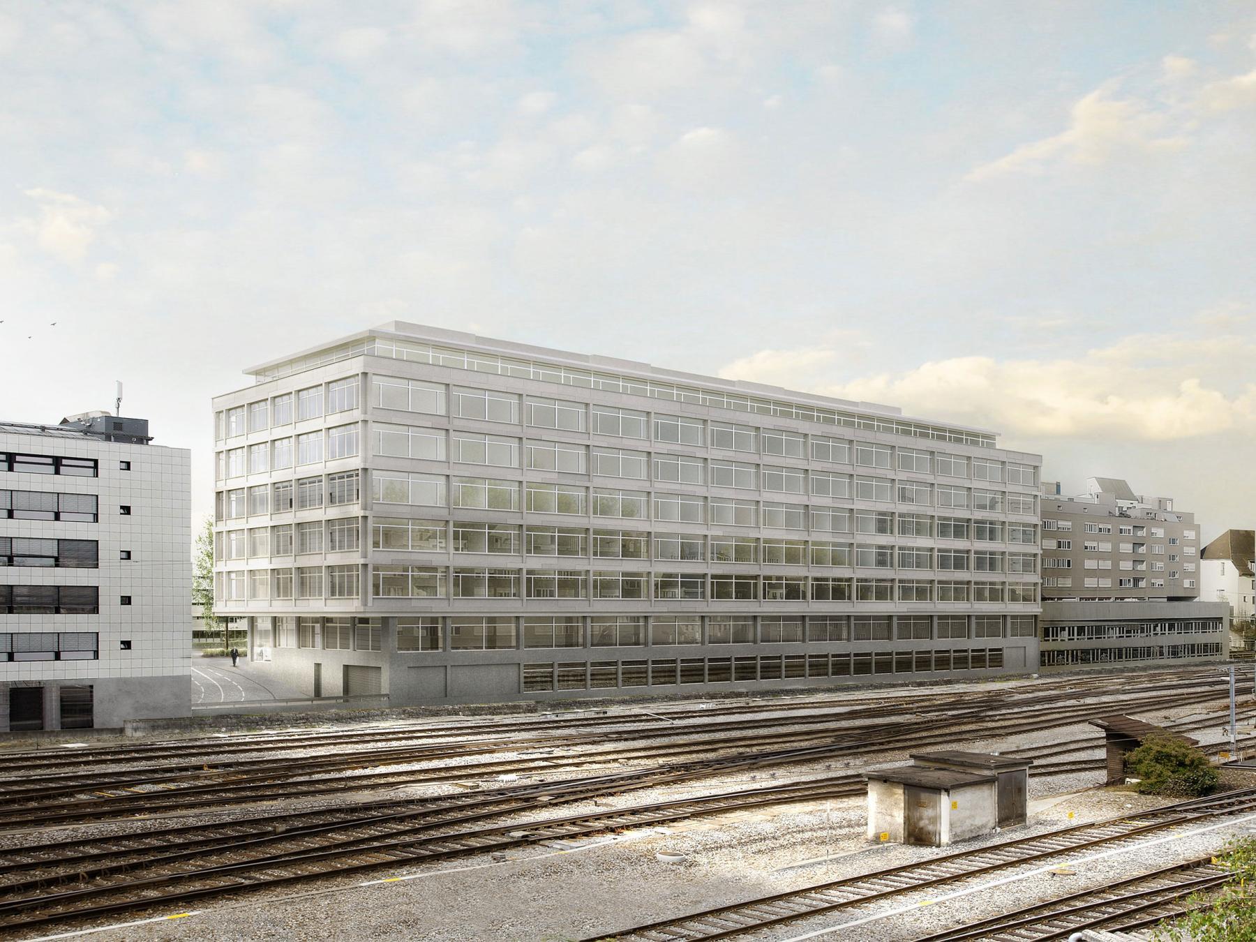 Neubau Universität Bern, Rechtsmedizin und Klinische Forschung, Gross Generalunternehmung + Schneider & Schneider Architekten, Quarz