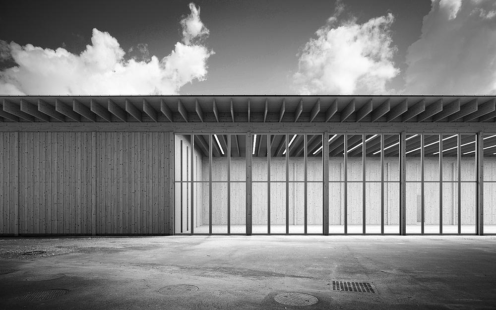 Neubau Werkhof für den Berner Jura und Stützpunkt für die N16, Loveresse, mbaa markus bachmann architekt, schnetzer puskas Ingenieure, LINEAIRE