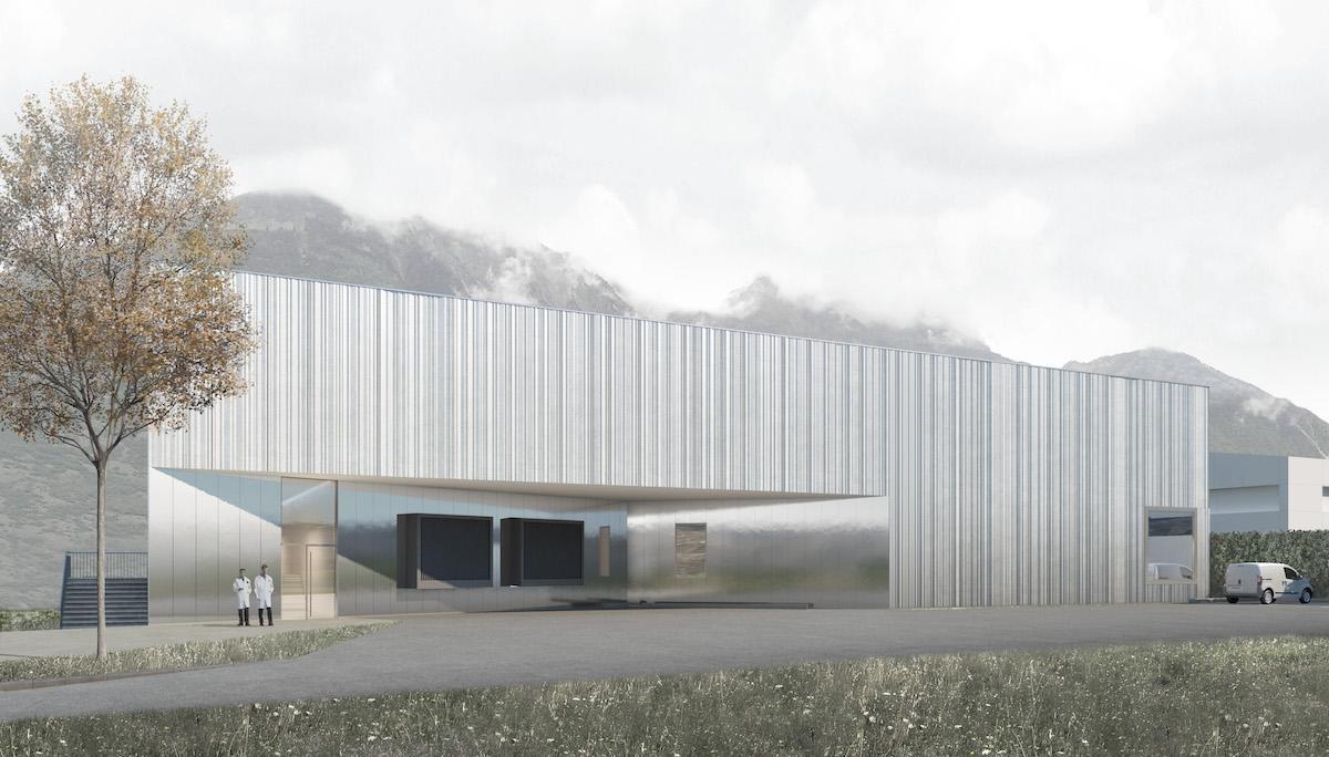 Nouveau Bâtiment Stérilisation Centrale à Martigny, bauzeit architekten, M.Propre