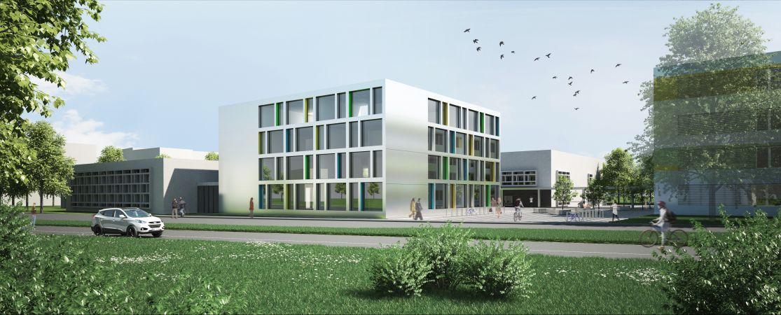 Extension et rénovation du complexe scolaire, culturel et sportif de Nyon-Marens, Architram