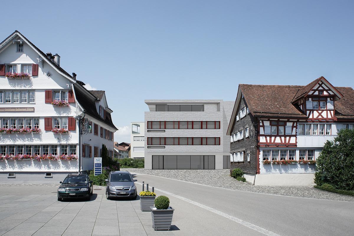 Freihof Mörschwil, Beat Consoni Architekt, MOERSWIL
