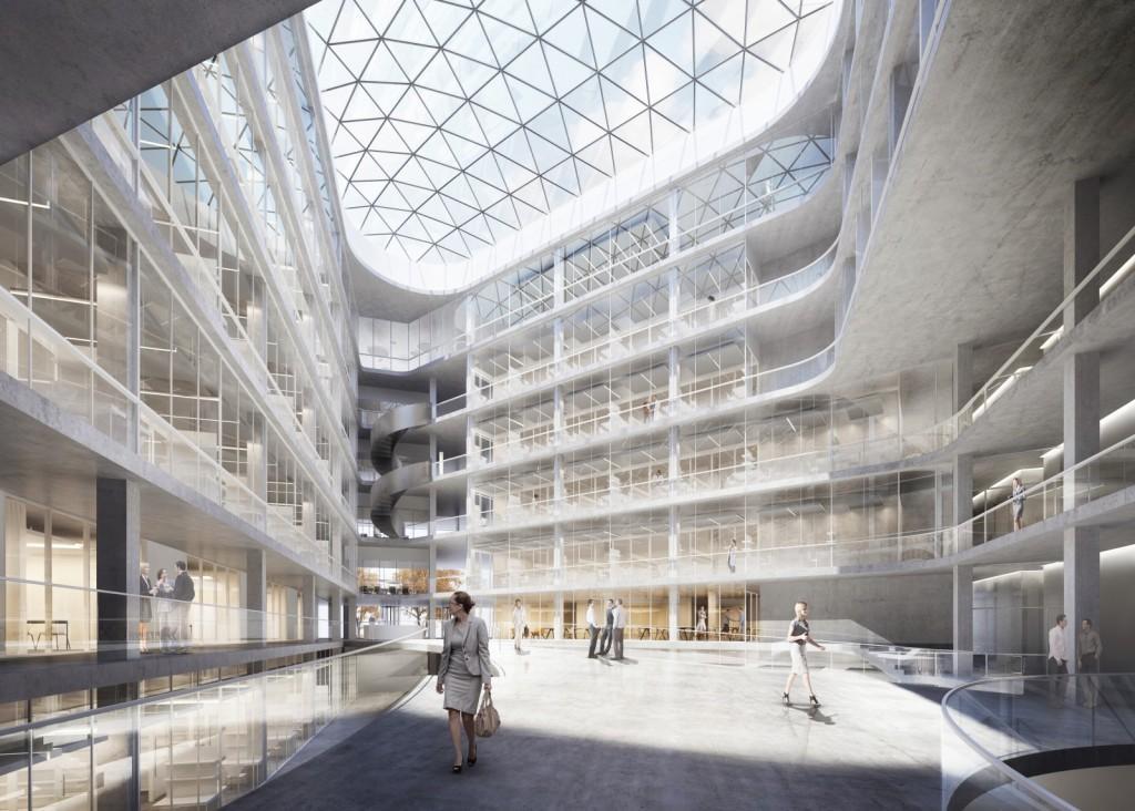 Neubau ETH D-BSSE, Labor- und Forschungsgebäude auf dem Campus Schällemätteli, Basel, Nickl & Partner Architekten, 540 GRAD