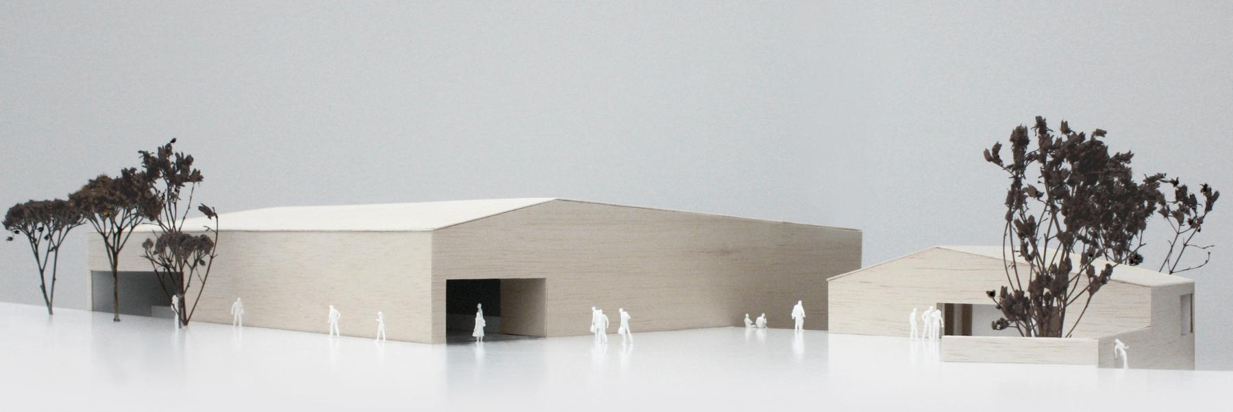 Nouvelle salle polyvalente, Bevaix, Yann Petter, ON S'ETAIT DIT RENDEZ-VOUS