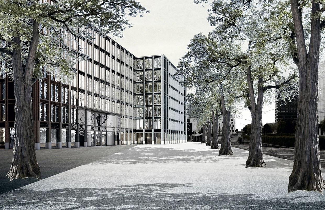 Projekt Fokus, Teilprojekt A, Neues Verwaltungszentrum, Zug, ARGE Fiechter & Salzmann Architekten / bosshard und partner, Fridolin