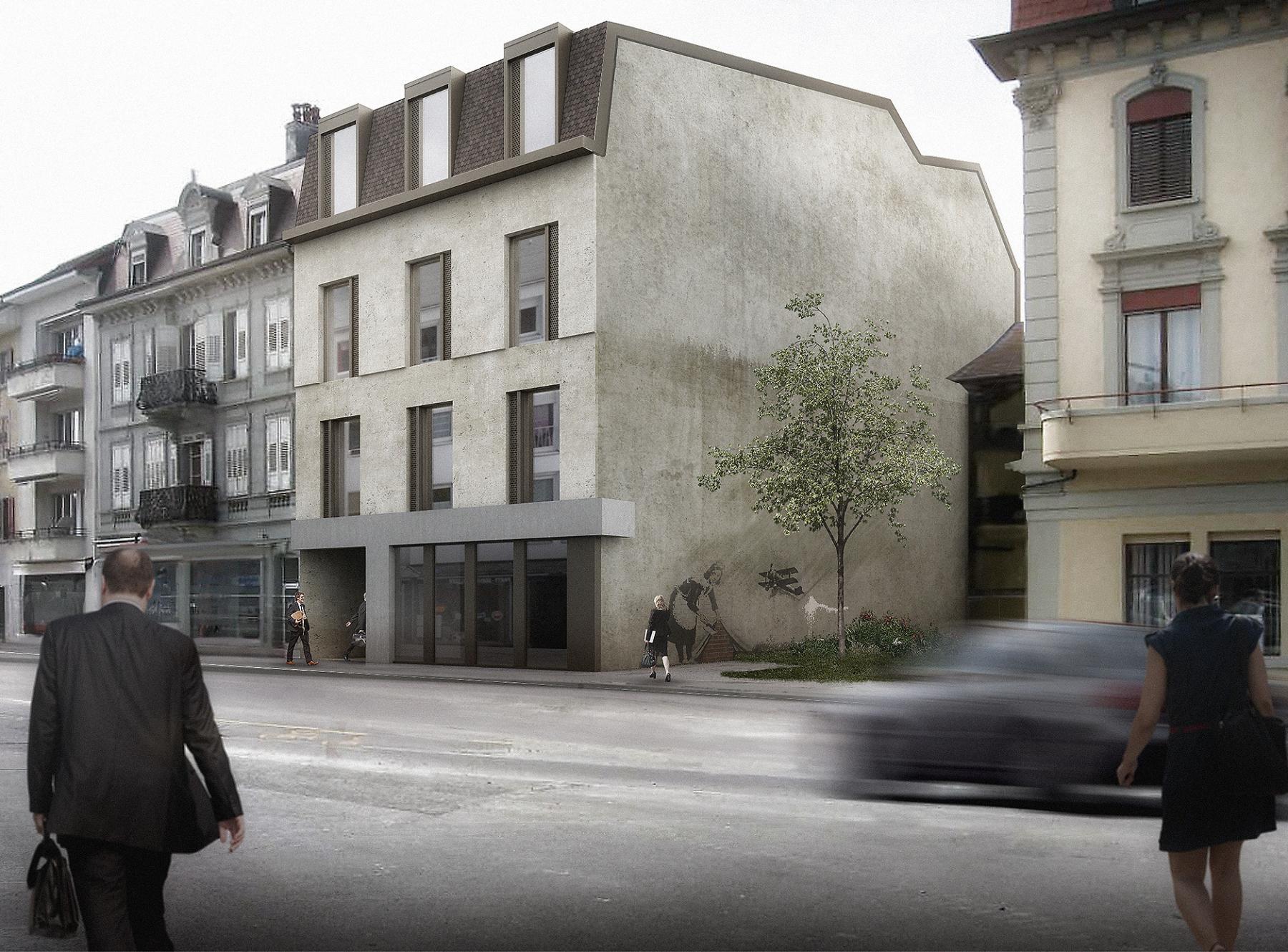 Transformation et surélévation d'un bâtiment administratif à Payerne, Boegli Kramp Architectes / Tekhne, LUX
