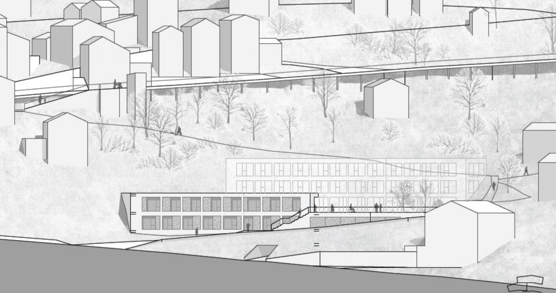 Construction et aménagement de structures médicales et médico-sociales à Vissoie, Val d'Anniviers, Game VS, ZaZie