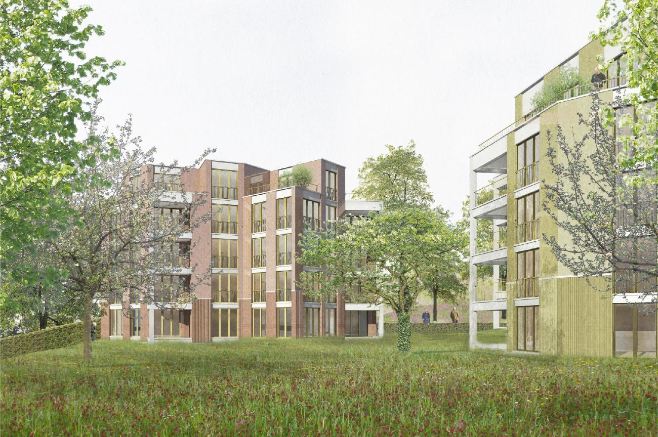Ersatzneubauten Bahnhaldenstrasse 29 und 31, Zürich-Seebach, Sergison Bates architekten