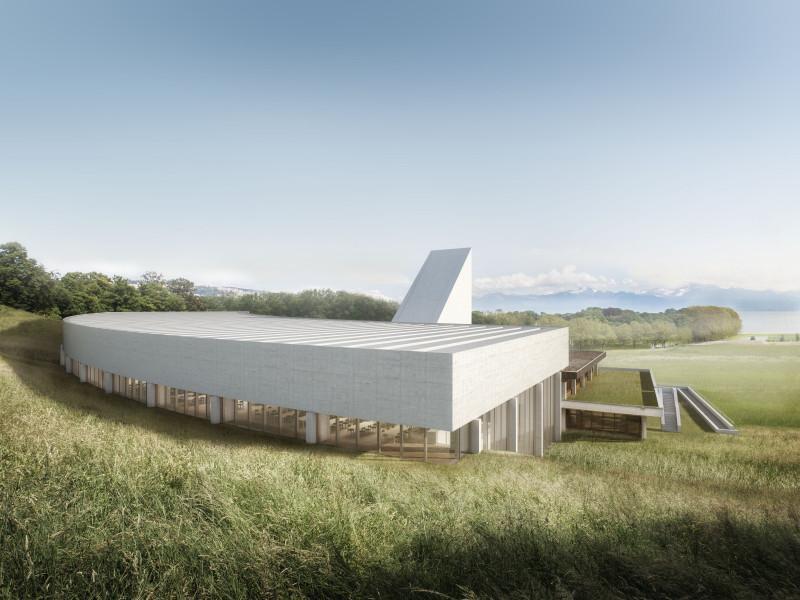 Extension du bâtiment Unithèque à Dorigny, une nouvelle bibliothèque pour l'Université de Lausanne, FRUEHAUF HENRY & VILADOMS, Abaka