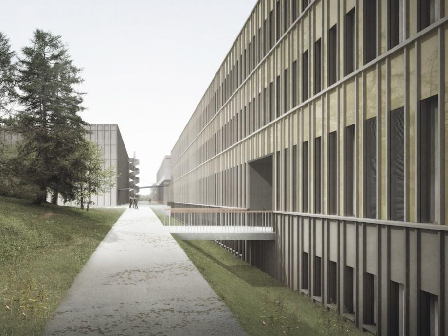 HIF Forschungsgebäude, ETH Zürich, Stücheli Architekten, MARTINA