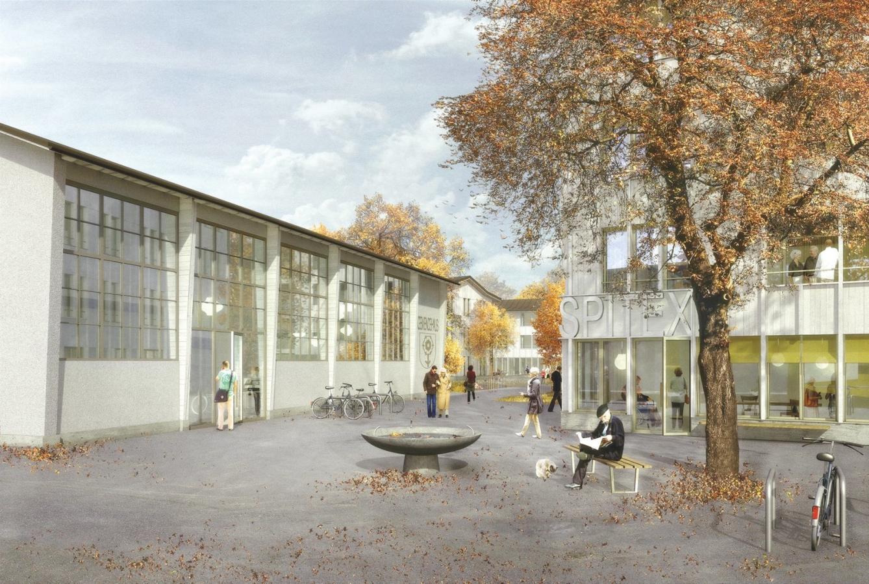 Investorenwettbewerb Zentrumsentwicklung mit Landverkauf, Güttingen, BSS&M Real Estate, Mirlo Urbano Architekten, Brühlmann Loetscher Architektur & Stadtplanung