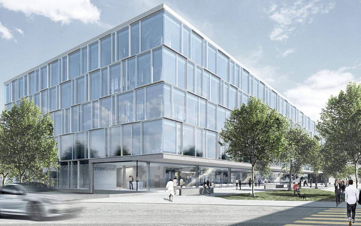 Neubau sitem-insel (Schweizerisches Institut für Translation und Unternehmertum in der Medizin), Bern, b+p baurealisation, Büro B Architekten, open up