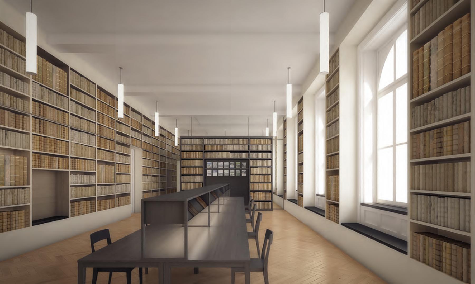 Verlegung Thomas Mann- und Max Frisch-Archiv, Zürich, ARGE Fahrländer Scherrer schindlersalmerón