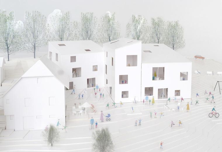 Création d'un bâtiment «Crèche & Parascolaire», Les Brenets, frundgallina, Poppy