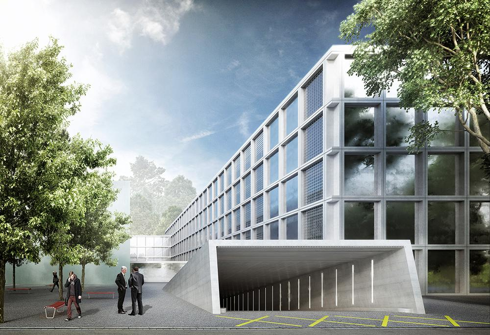 Erweiterung Bezirksanlage Winterthur, Gunz & Künzle Architekten / MOA Miebach Oberholzer Architekten, XY