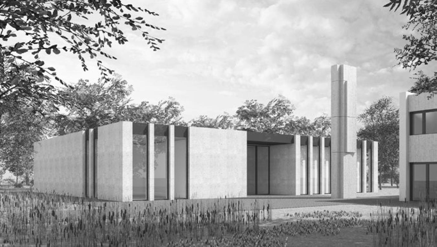 Neubau Mehrzweckraum mit Aulafunktion, Berufsschule Rüti ZH, Jonas Wüest Architekten, LAP