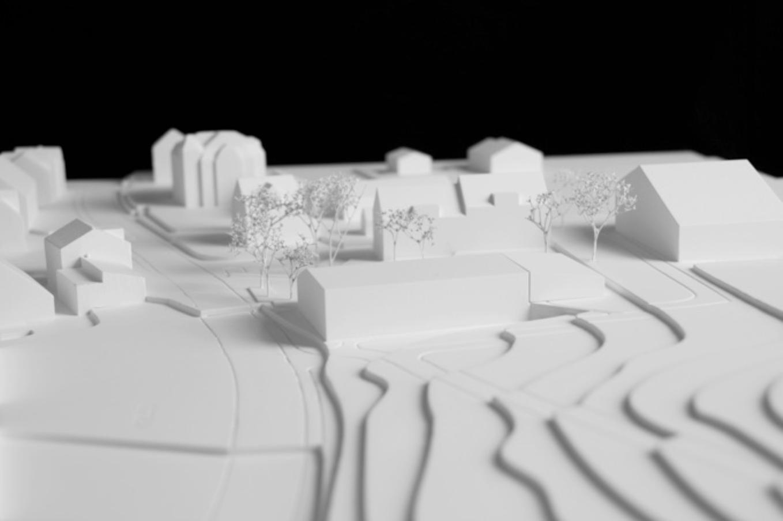 Studienauftrag Neubau Mehrzwecksaal, Muolen, Frei + Saarinen Architekten