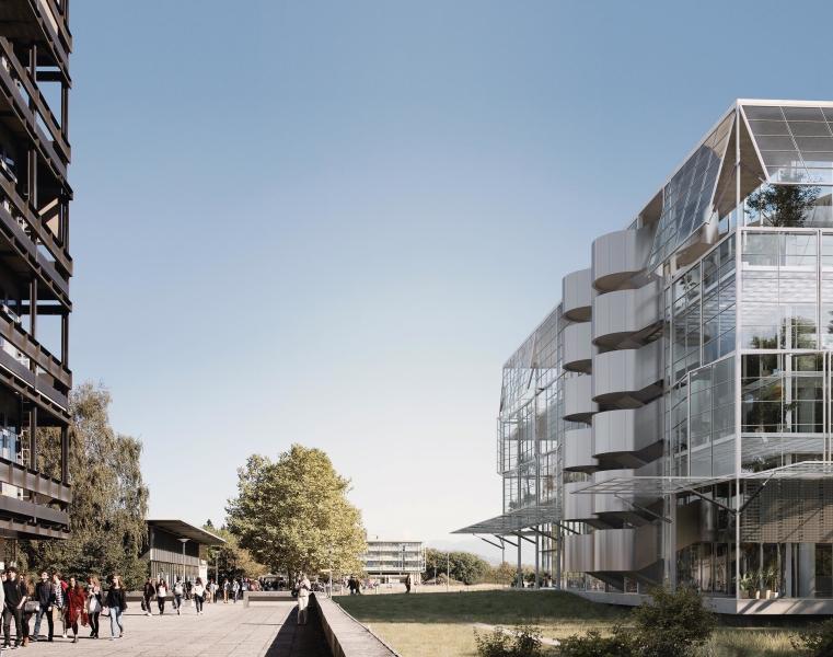 perspective du projet 23071933 (©BAUKUNST, Bruxelles)