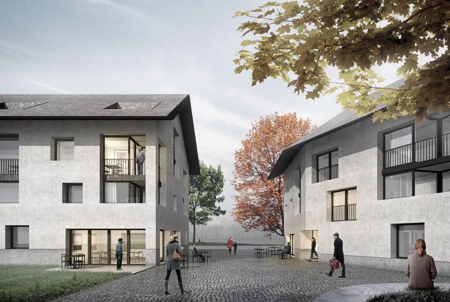 Visualisation «ARCADIE» (© Fil rouge Architecture, REGTEC SA, MAP Monier)