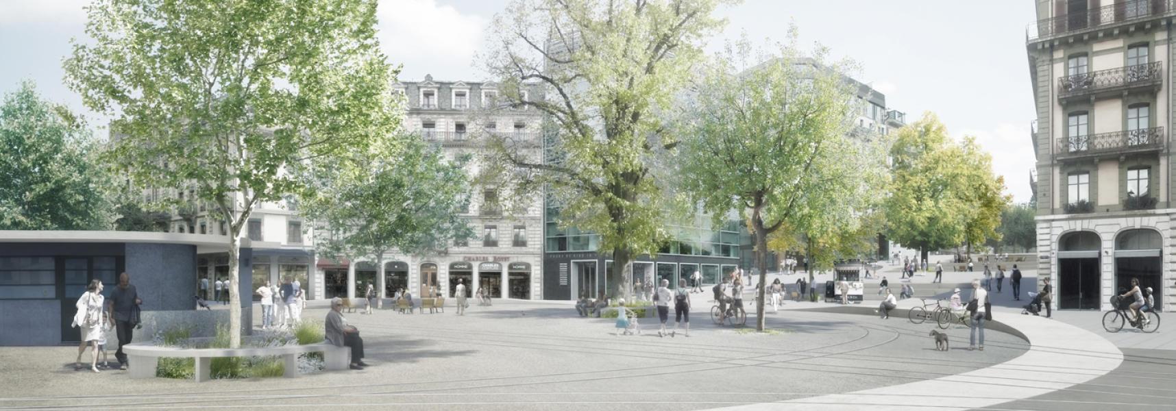 Projet CONTINUUM, Pascal Heyraud Sàrl – Architecte paysagiste, Neuchâtel