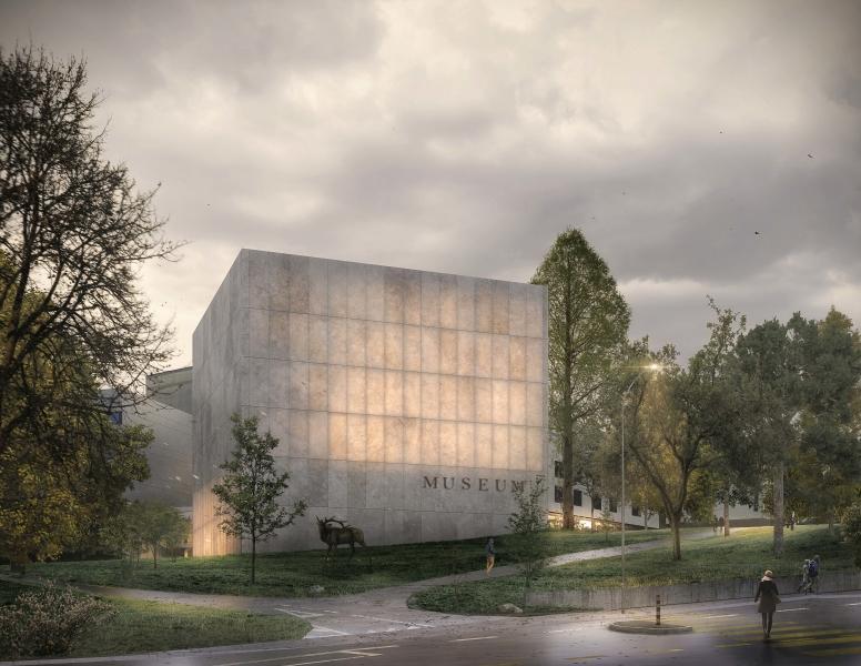 Perspective extérieure du projet «Ambre» (© MAK architecture)