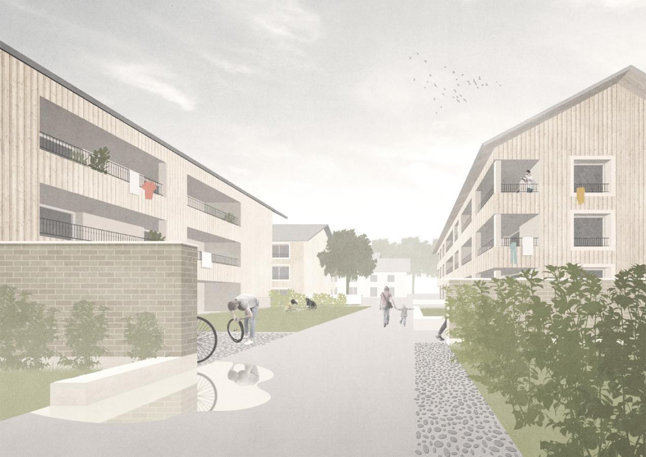 Image du projet «Compagnies» (©m+n paysage architecture & Atelier Nature et Paysage)