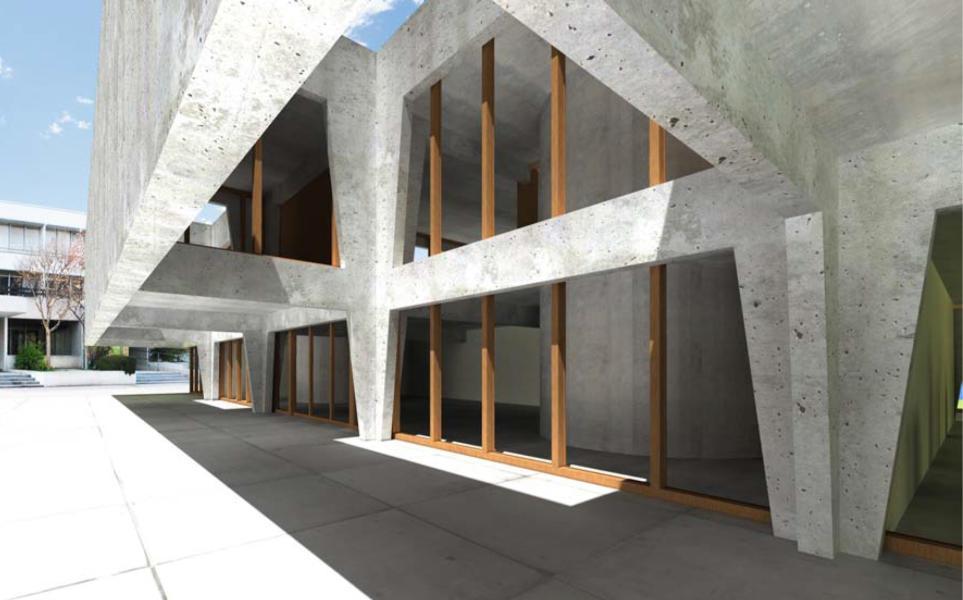 Aule speciali scuola media di Chiasso (Foto: Montemurro Aguiar Architetti)