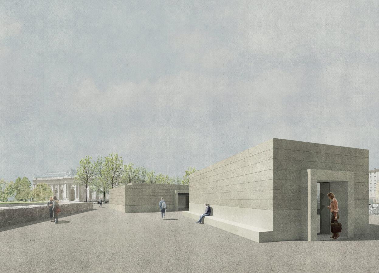 perspective du projet Lanterneaux (©atelier traces architectures)