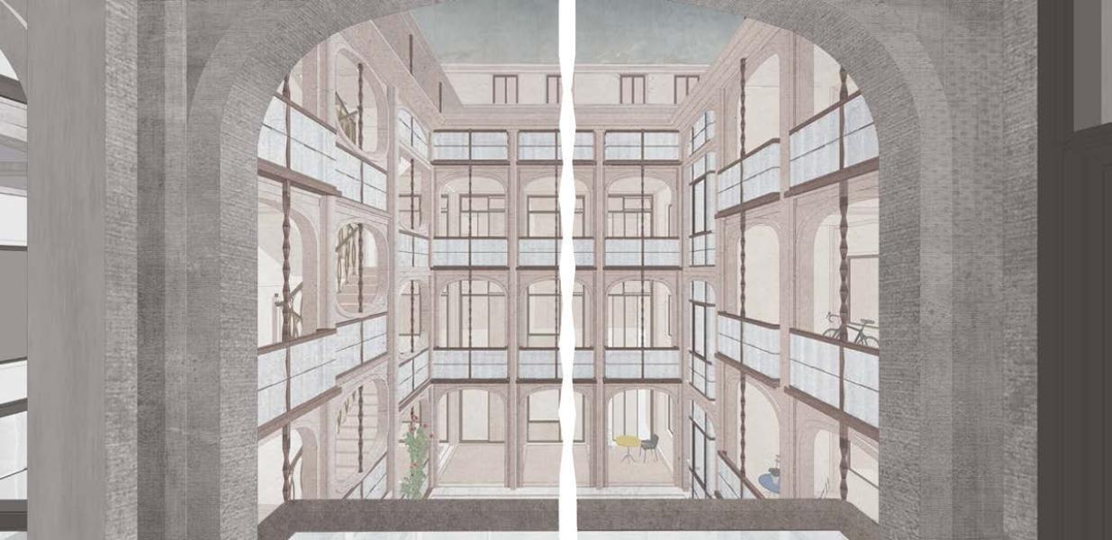Siegerprojekt von Buol & Zünd Architekten (Visualisierung: Projektverfasser)