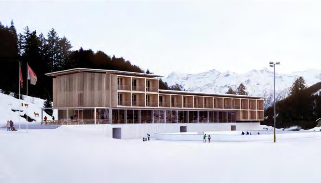 Se una notte d'inverno... (Foto: Durisch + Nolli Architetti Sagl)
