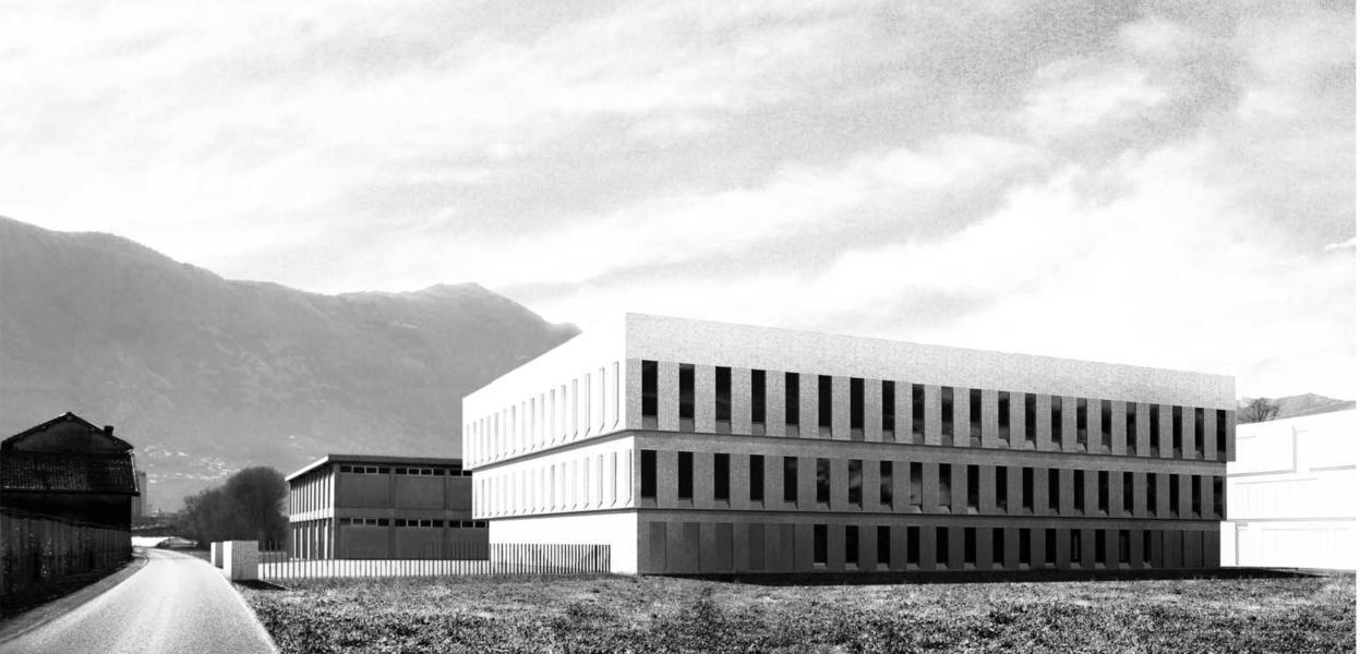 Nuova Centrale cantonale di allarme (Cecal). (Visualizzazione: L. Pessina e S. Tocchetti)