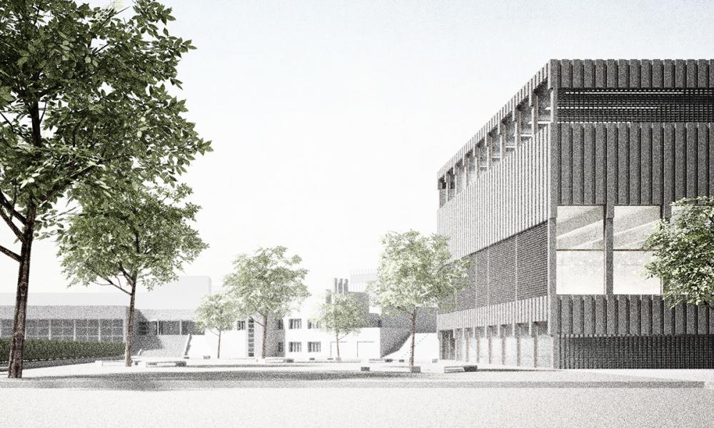 Siegerprojekt «Collana» von Daniel Penzis Giulio Bettini Architekten (Visualisierung: Projektverfasser)
