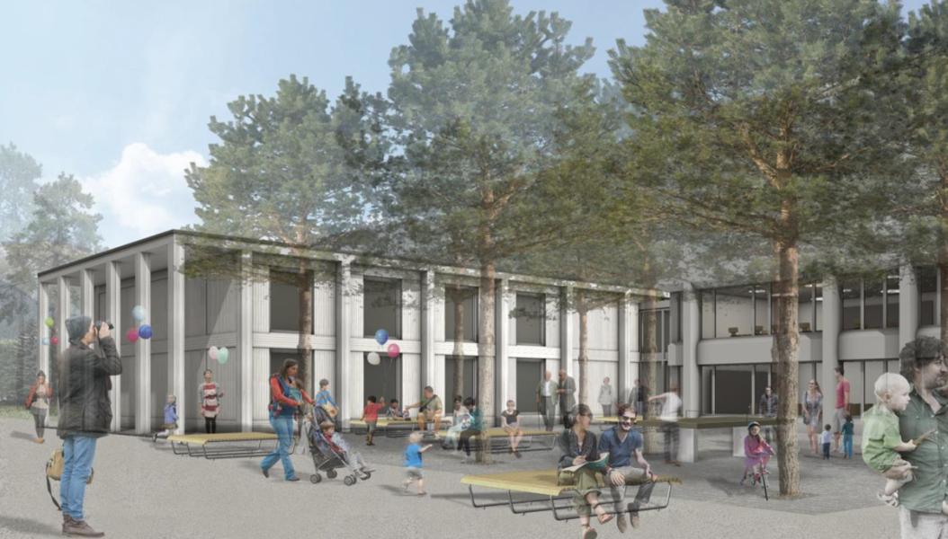Siegerprojekt «Futura Nova» von Brasser Architekten (Visualisierung: Projektverfasser)