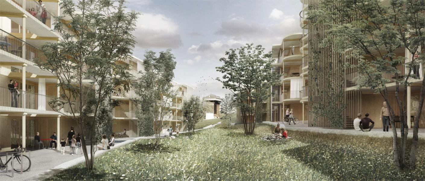 «Holts» von burkhalter sumi architekten (Visualisierung: Projektverfassende)