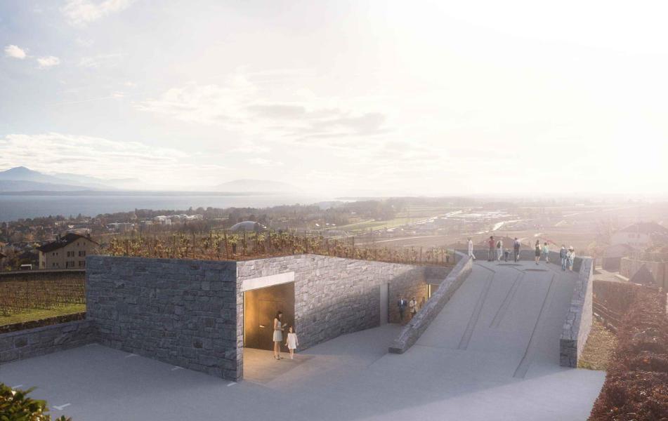 Entre murs (1er prix, 1er rang): Vue extérieure (Source: ARCHI-DT SA)