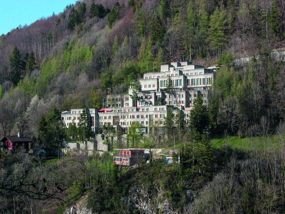Das Konvikt Chur von Otto Glaus aus den 1960er-Jahren soll instandgesetzt werden. (Fotos: Hochbauamt Graubünden)
