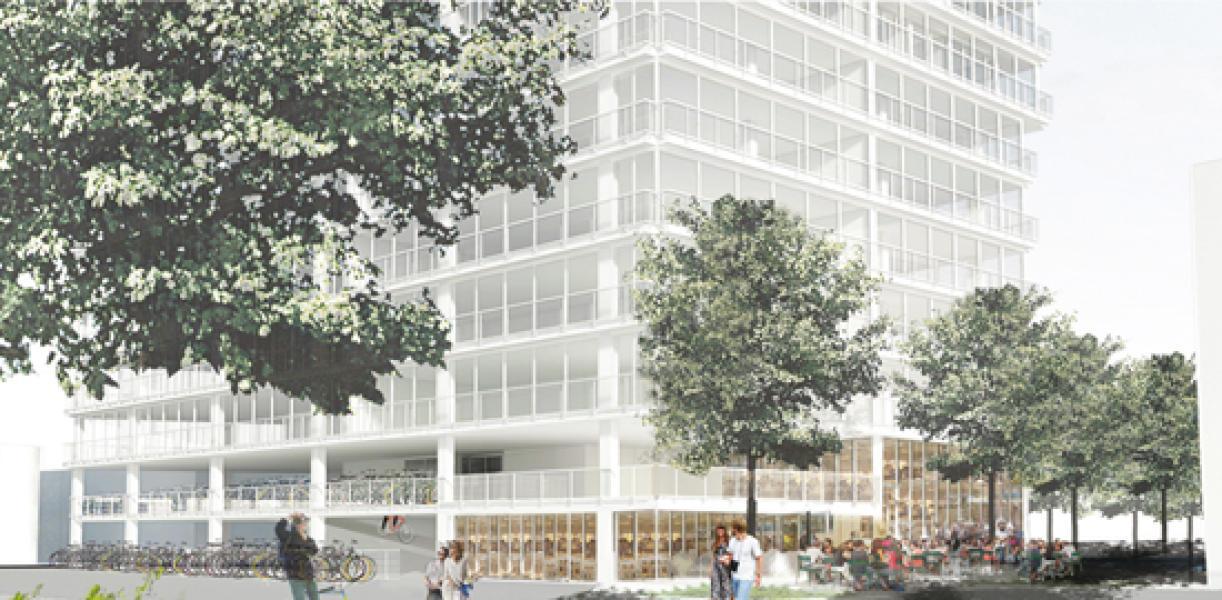 Projet SARA, Lot B, Lacaton & Vassal, Paris