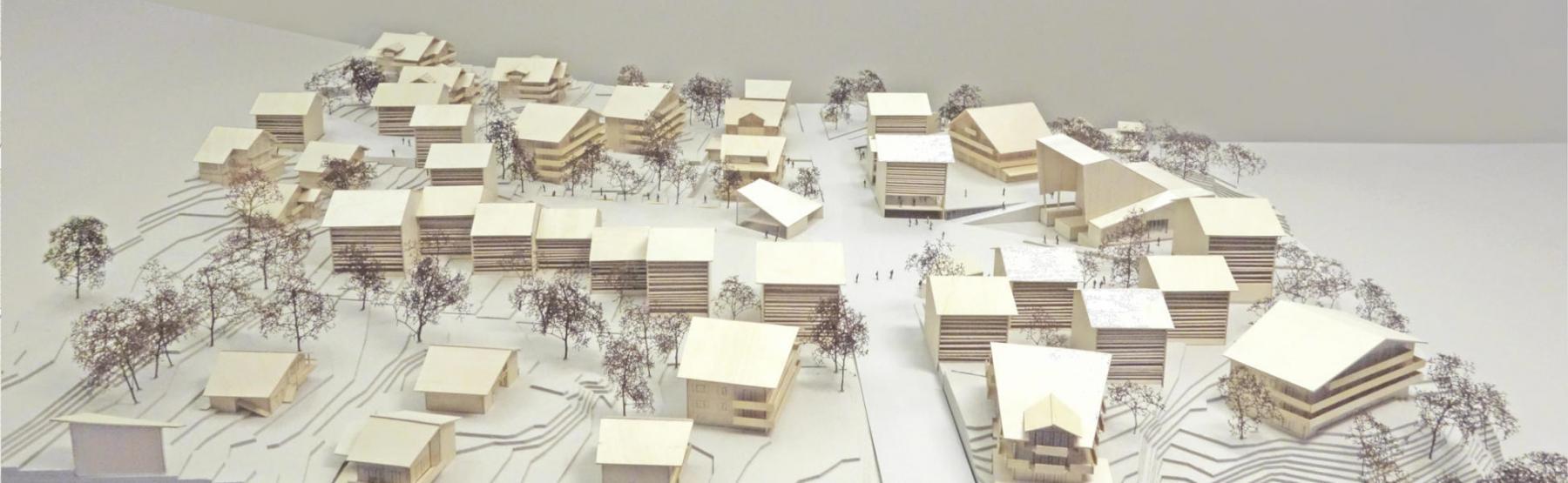 perspective du projet lauréat Casper (©Fournier-Maccagnan architectes)