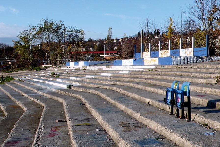 Die letzte Verlängerung im Hardturm-Stadion? Die fünf Mitspieler sind bekannt. Wer den Match für sich entscheidet, ist noch offen. (Foto: Andreas Kohne)
