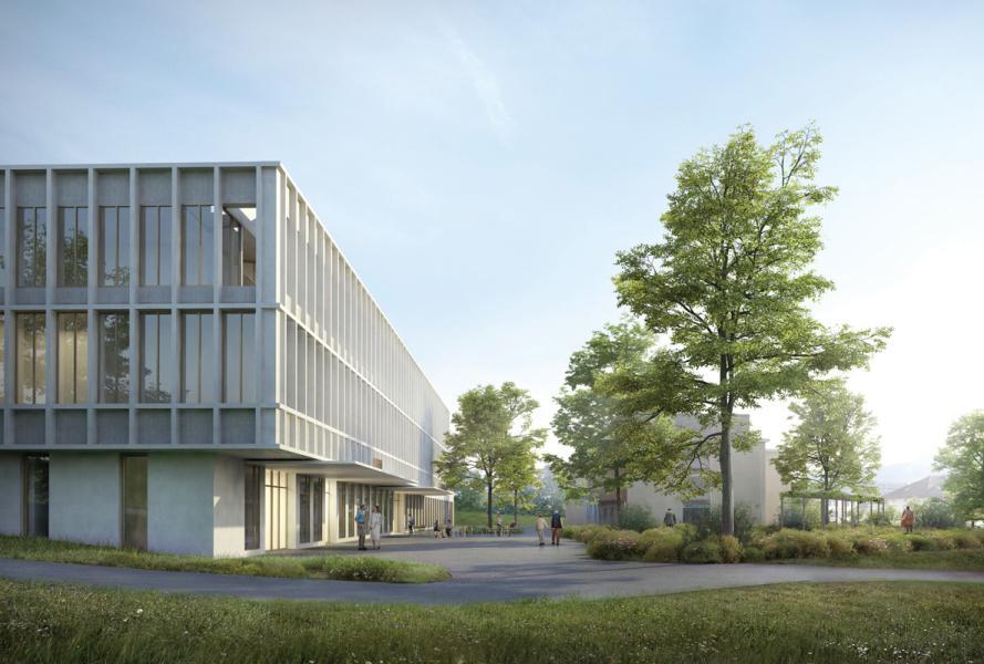 1. Rang «Neo» von Schneider & Schneider Architekten (Visualisierung: Projektverfasser)