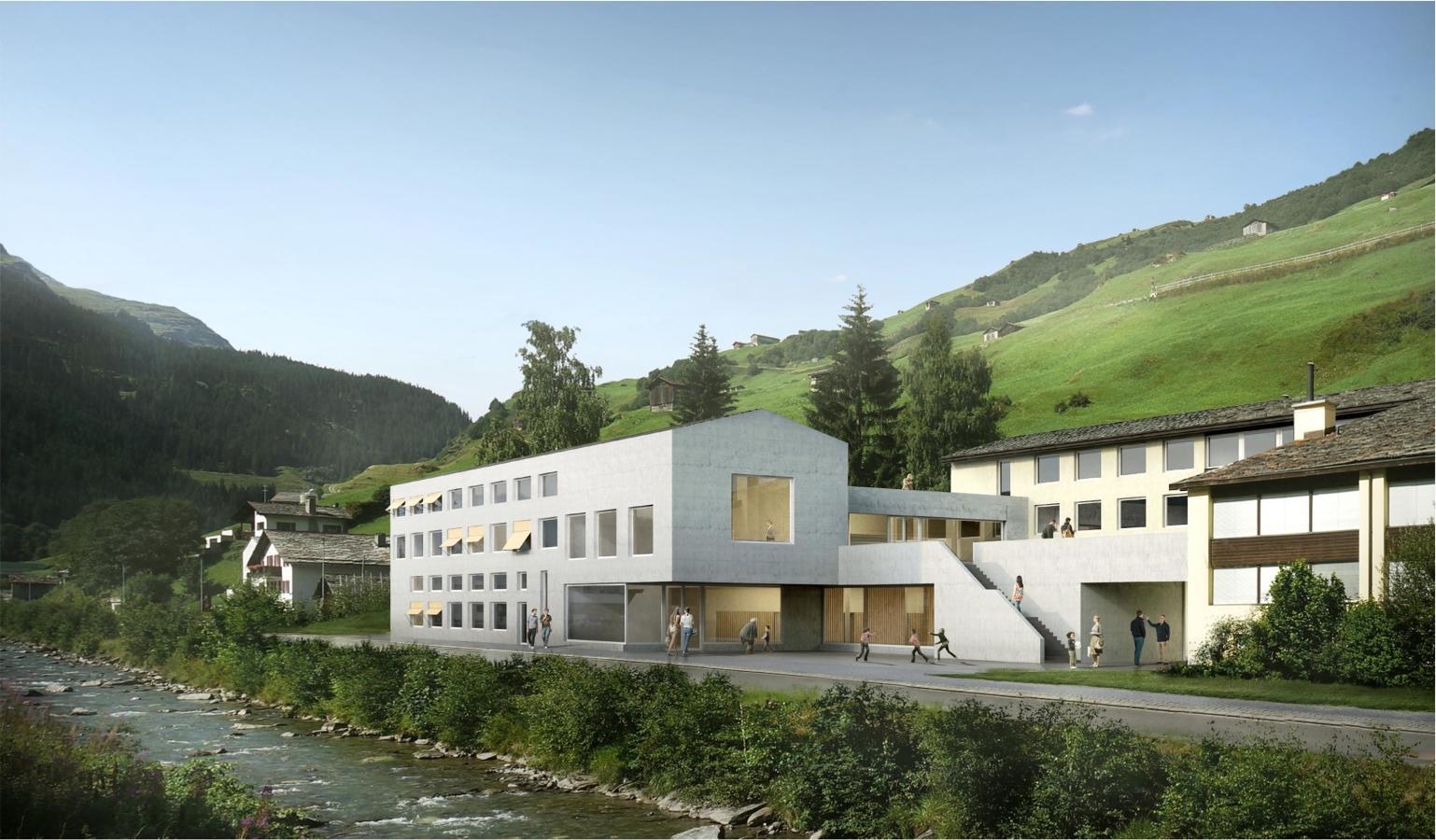 Siegerprojekt Follow-Me von SAM Architekten und Partner (Visualisierung: Projektverfassende)