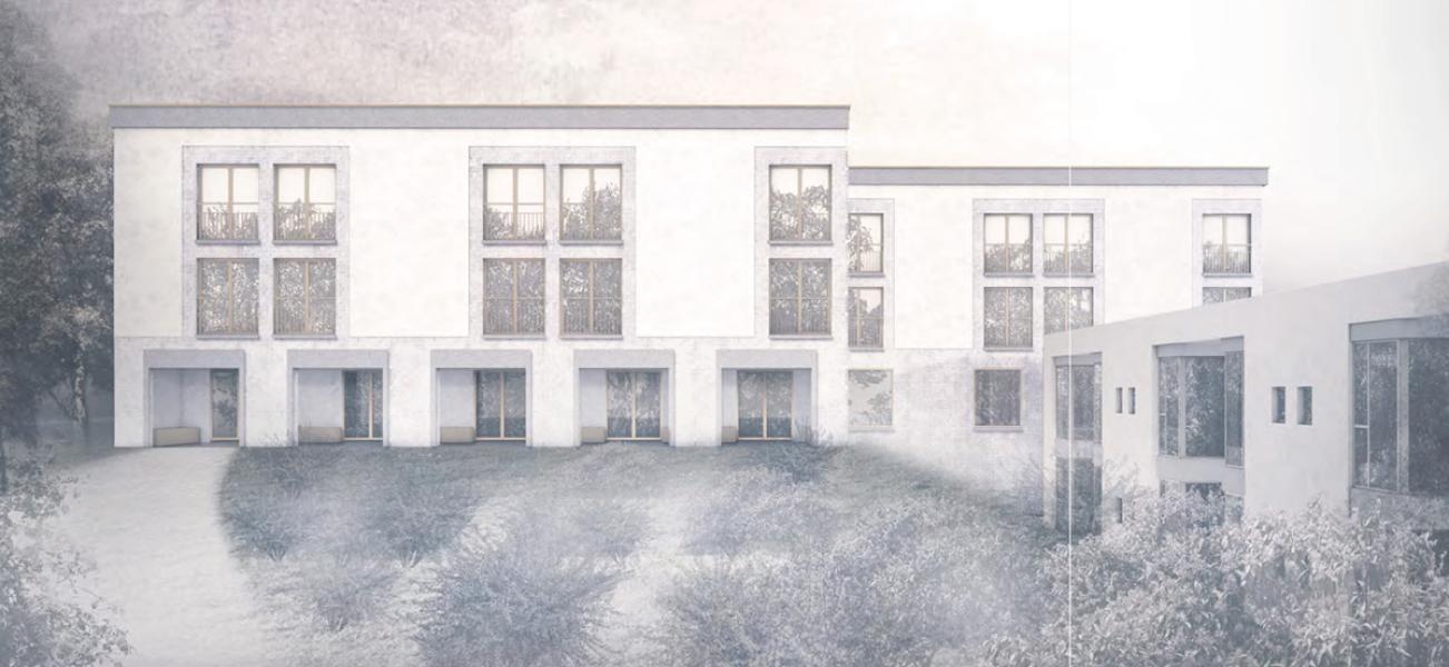 1. Rang «Edmund» von Fiechter & Salzmann Architekten (Visualisierung: Projektverfasser)